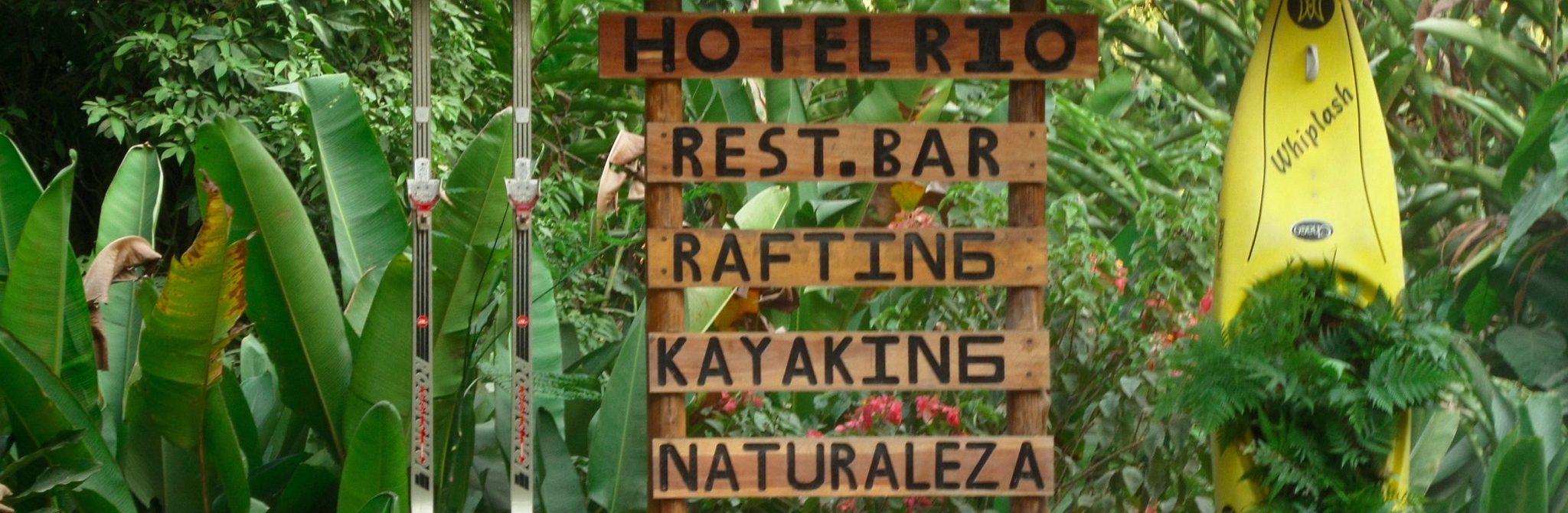 Hotel Rio Sign